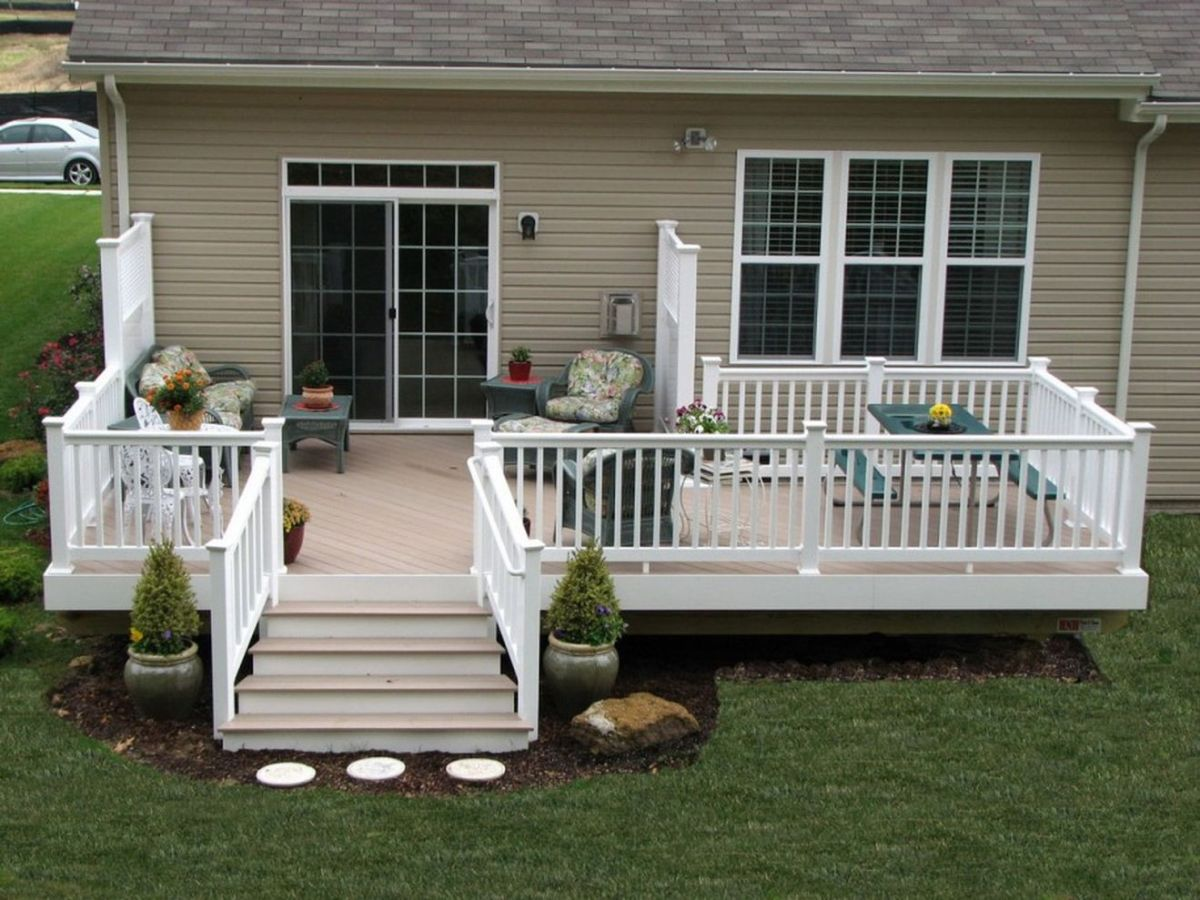59 Creative Front Porch Garden Design Ideas